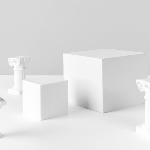 cubes and columns in abstract space