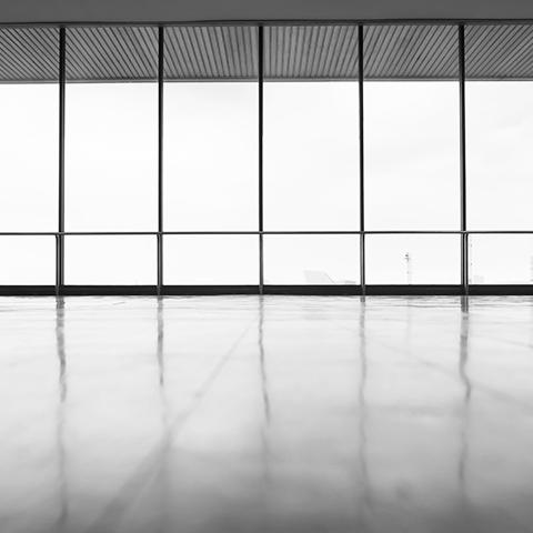 modern office view