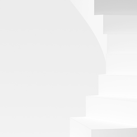 minimalist abstract view of staircase